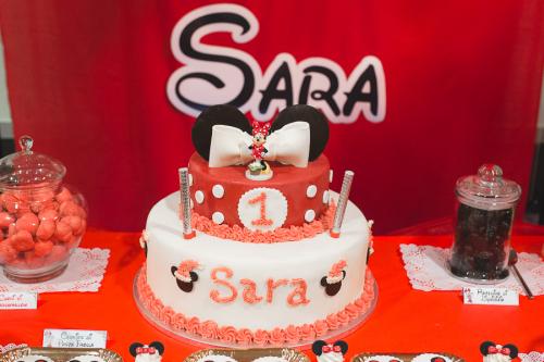 Il 1° Compleanno di Sara - Tema Minnie