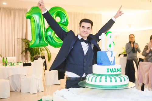 I 18 anni di Ivano